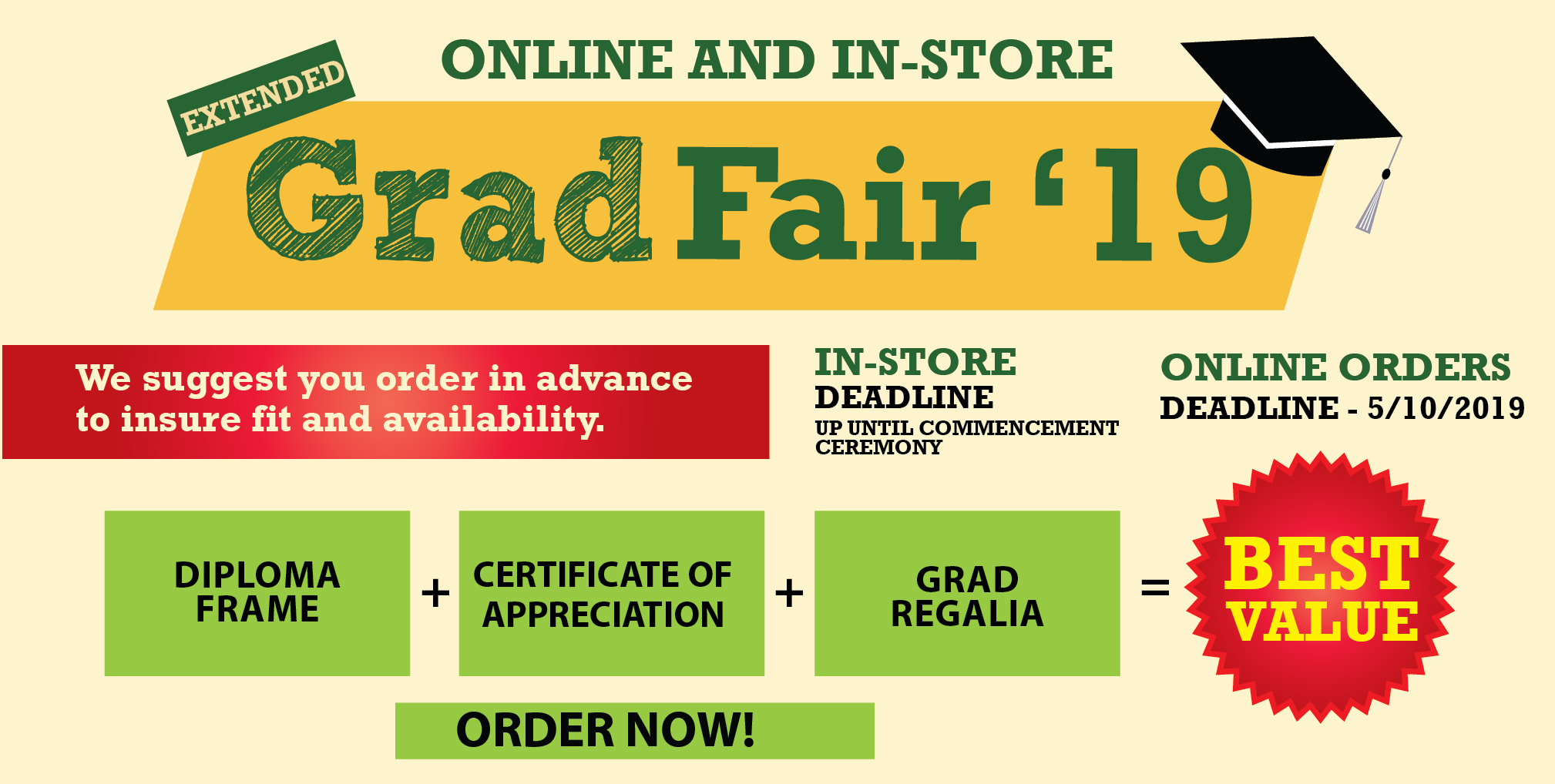 GradFair for all your grad needs