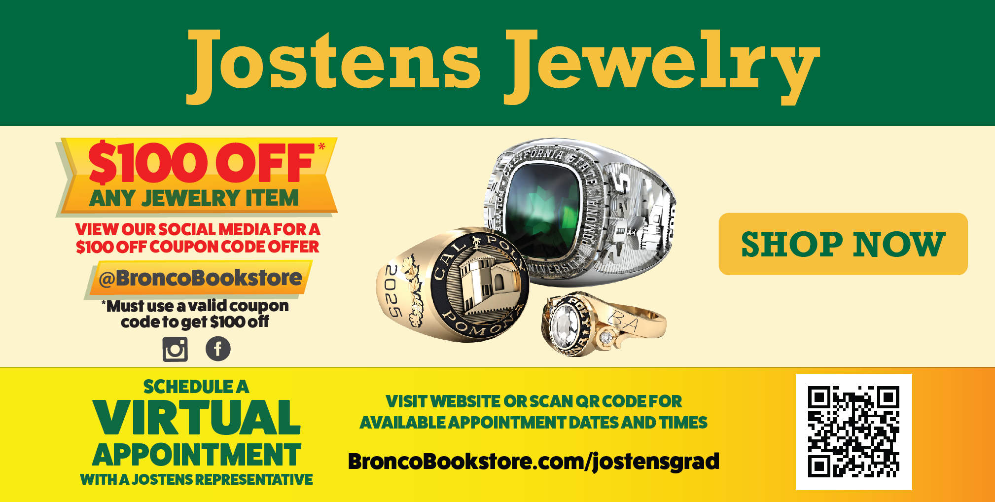 Graduation Jostens Jewelry
