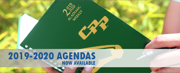 Agendas Now Available