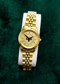 Rolled Link Ladies Watch Brass