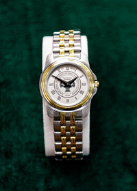 Rolled Link Ladies Watch Two Tone