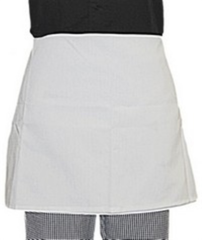 Short 4 Way White Apron Pack Of 2