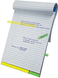 Am Ez Flag Writing Pad 50 Sheets White Lined Wr