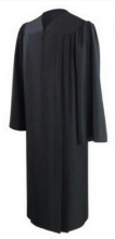 Official Bach Gown Size