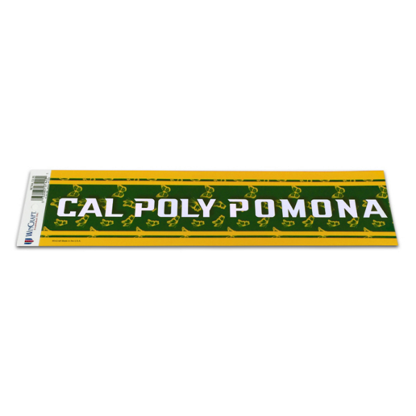Decal Cal Poly Pomona W/ Butterfly