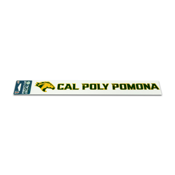 "Decal Cal Poly Pomona W/Horse 17"" X 2"""
