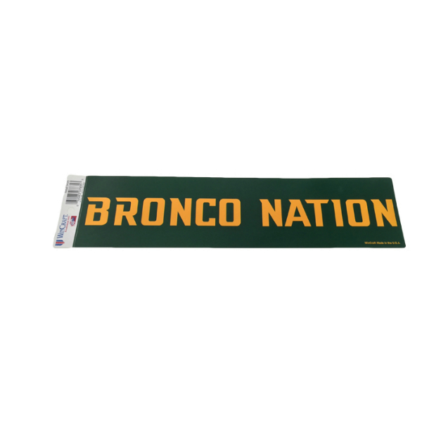 Decal Bronco Nation
