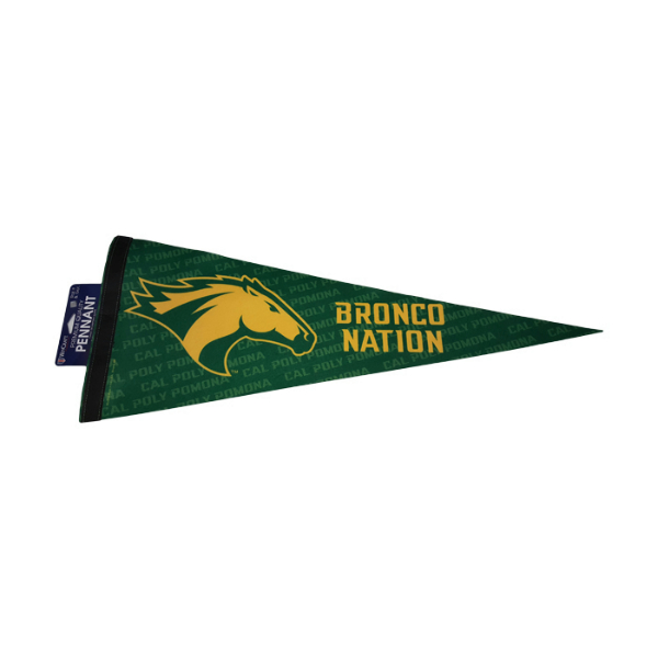 "Pennant 12""X30"" Premium Bronco Nation"