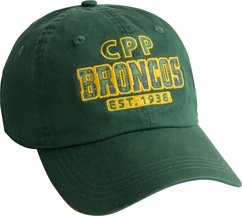 Cap Vintage Classic Hunter Green Plaid Design