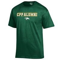 Alumni Tee Full Spell Field Green