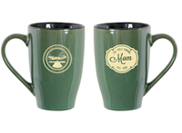 Mom Mug Sherwood Cafe Green