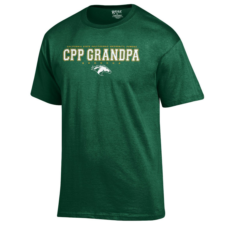 Grandpa Tee Full Spell Field Green