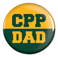 Dad Button Green/Gold