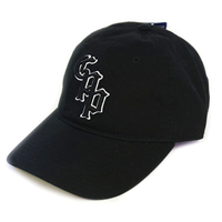 Cap Outline Old English CPP Free Style Two Tone Black/Black