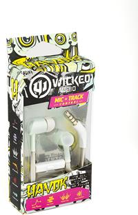 WICKED AUDIO HAVOK W/ MIC SAGE GREEN