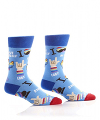 Men's Crew Sock Lgbt Pride