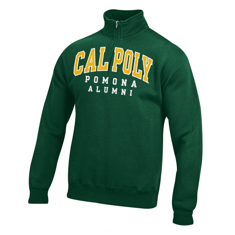 Alumni 1/4 Zip Hood Field Green (SKU 121629701001)
