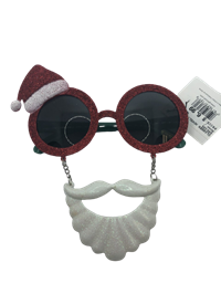 *Glasses Novelty Santa