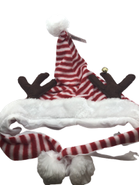 *Hat Christmas Santa And Antler