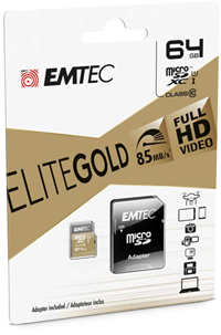 EMTEC MICROSD CLASS 10 GOLD+