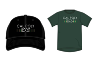 Dad Combo Hat/T-Shirt Black Cap/Green Shirt