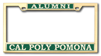 Alumni License Frame Heavy Frame Boxter Alumni Brass No Marks
