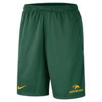 *Close Out Limited Sizes: Nike Short Sideline Coach Broncos Green And Gold