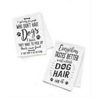 Tea Towels Furever Yours Dog ASST