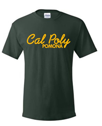 Value Sale Tee Script Over Pomona Forest Green