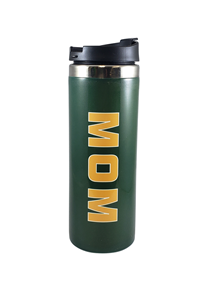 Mom Tumbler Green And Gold Wrap