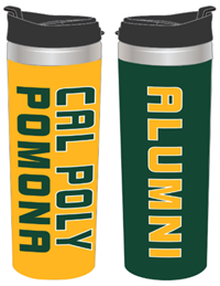 Alumni Tumbler Green And Gold Wrap