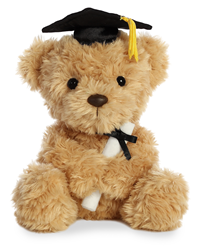 Grad Plush Wagner Bear 8""