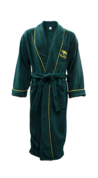Bathrobe Super Soft Classic Head Green/Gold