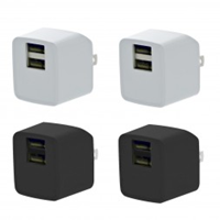 2- Pack Wall Charger W/ Fast Charging