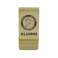 Alumni Money Clip Gold