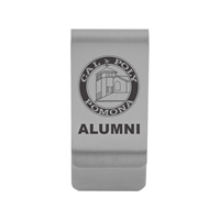 Alumni Money Clip Silver