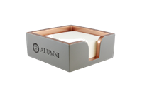 Alumni Full Spell Concrete Note Pad Holder