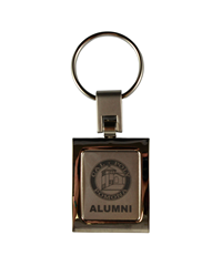 New Alumni Logo Square Key Tag