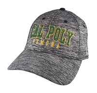 Cap Gamechanger Arched Cal Poly Over Pomona Black Heather
