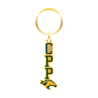 Keychain Color Block CPP W/Horse Head