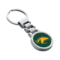 Keychain Links Horse Head Chrome