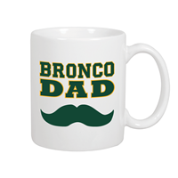 *Limited Edition: Dad Mustache Mug Coffee White
