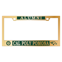 Alumni License Frame Seal Over Cpp Brass