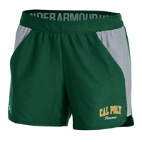*Close Out Limited Sizes: UA Womens Short Playoff Forest Green