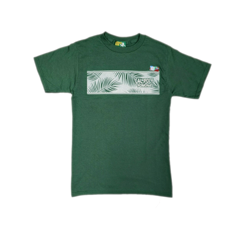 Tee Cal Poly Pomona Leaf Dark Green (SKU 124171621316)