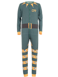 Union Suit Holiday Elf Cpp Green