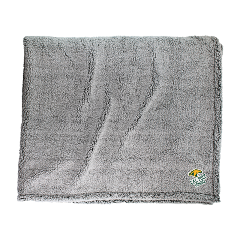 Blanket Sherpa Horsehead Over Classic Frosty Grey (SKU 124309941313)