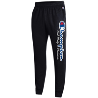Jogger Powerblend Script Champ Over Classic Black