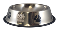 Pet Bowl Classic Silver Large