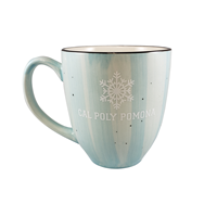 Mug Tempe Snowflake Over Classic Light Blue